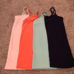 4 Colorful Camisoles